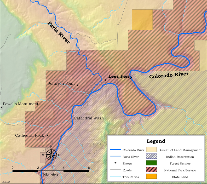 an introduction to the geography of the colorado river Geog - geography college of introduction to geography field and other research methods: field course: analyzes the geography of rivers in western colorado.