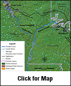 Fossil Creek Map